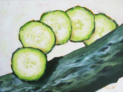 Tracy Wall, 'Sliced Cucumber', 2014