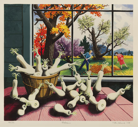 Peter Blume, 'Autumn ', 1988