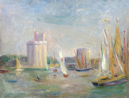 Pierre-Auguste Renoir, 'La Rochelle', ca. 1896