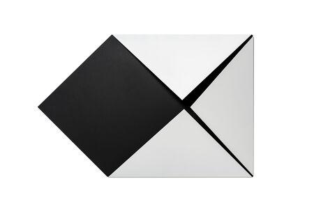 Sébastien de Ganay, 'White & Black Folded Flat 01', 2020