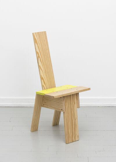 "Michael Marriott, '""Planka Amarillo"" Chair', 2017"