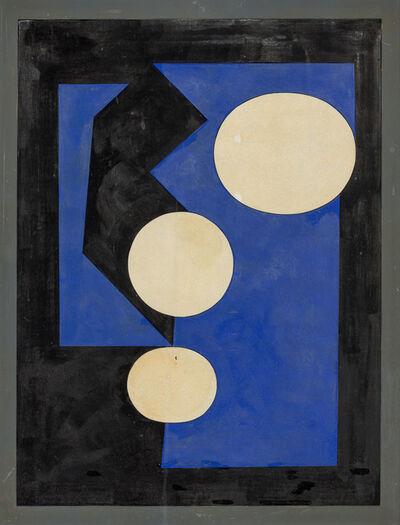 Victor Vasarely, 'Sauzon - B1', 1952