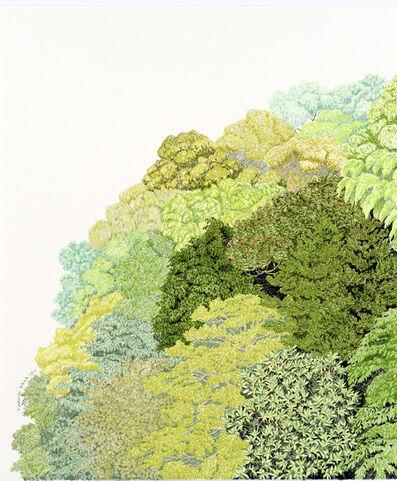 Kana Kou, 'Face to the Green 1'