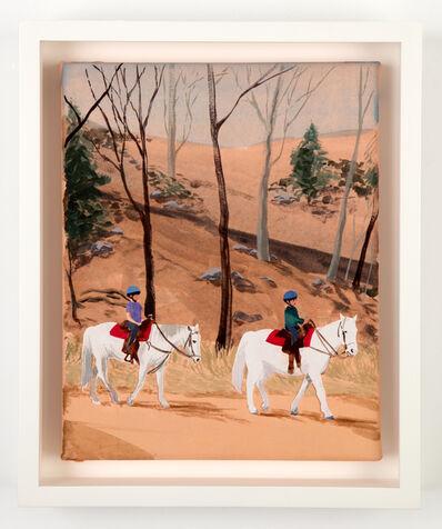 Sebastian Blanck, 'Horseback Rides', 2016