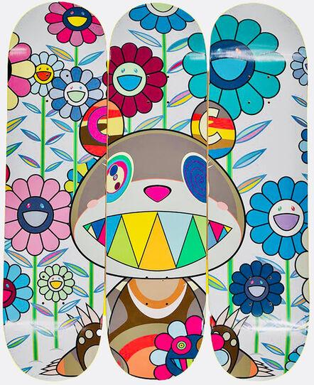 Takashi Murakami, 'Takashi Murakami Flower Skateboard Decks (set of 3) ', 2019