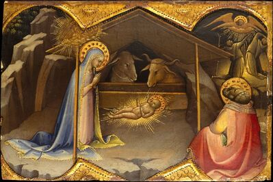 Lorenzo Monaco, 'The Nativity', ca. 1406–1410