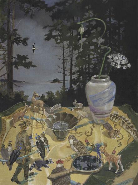 Barbara Kassel, 'Les Oiseaux du Roy in the Cove', 2014