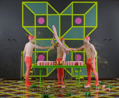 Alex Da Corte, 'Alex Da Corte and Jayson Musson, Eastersports (video still) ', 2014