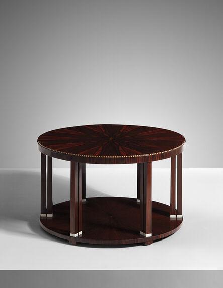 Jacques-Emile Ruhlmann, 'Douze colonnettes' coffee table, model no. 1017NR', ca. 1920-1922