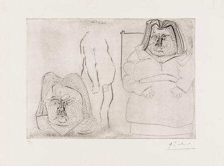 Pablo Picasso, 'Balzac (Bloch 713)', 1952-61
