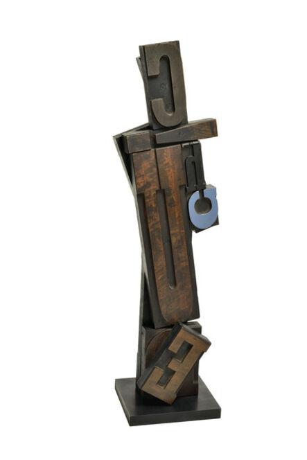 Paul-Armand Gette, 'Totem G bleu', 1965
