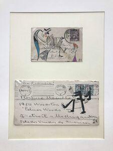 Adnan Charara, 'Postal Perusers #1', 2006