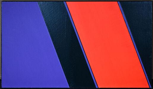 Günter Fruhtrunk, 'Rot Violett', 1979