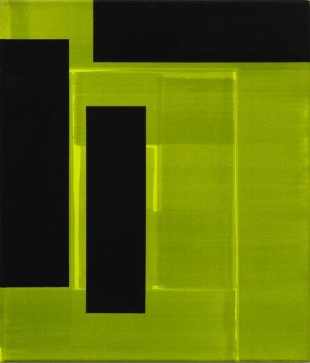 Friedhelm Falke, 'Gate K / Gelb', 2008