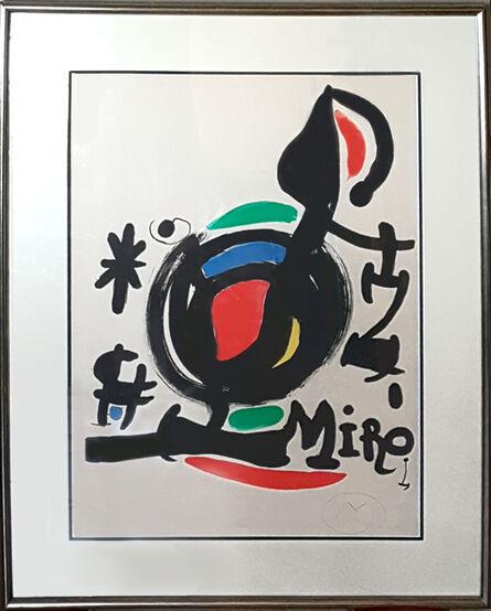 Joan Miró, 'Les Essencies de la Terra Exhibition (M. 625)', 1969