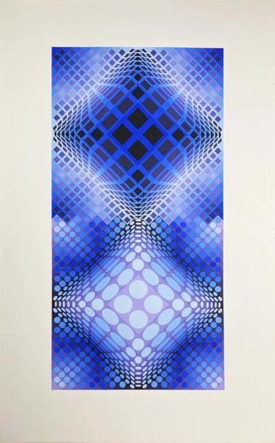 Victor Vasarely, 'Album Meta: Seven Plates 2', 1976