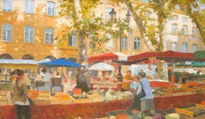 Nicholas Verrall, 'Market Day, Aix-en-Provence', 2020