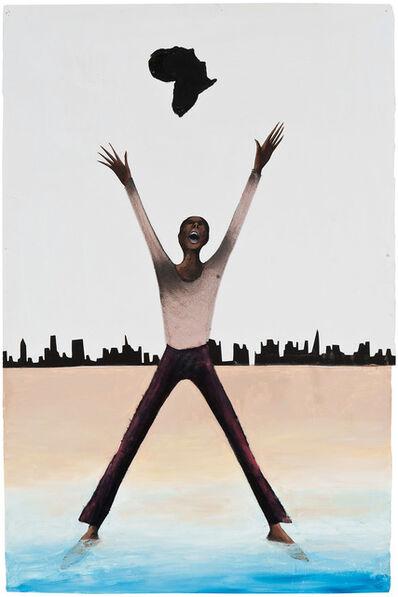 Benny Andrews, 'Afro-American Fragments (Langston Hughes Series), ', 2005
