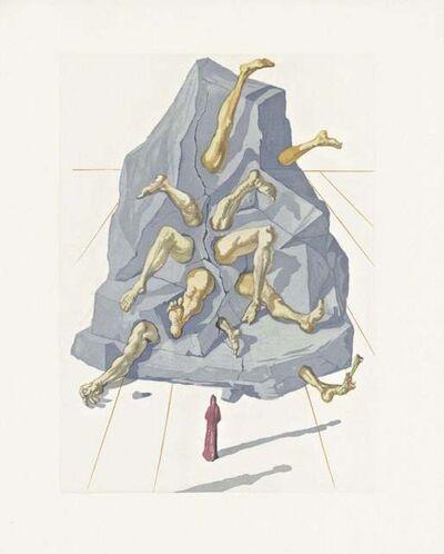 Salvador Dalí, 'Hell Canto #21, The Divine Comedy (Field 199)', 1959-1964