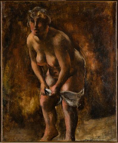 Jean Fautrier, 'Femme se déshabillant', 1925