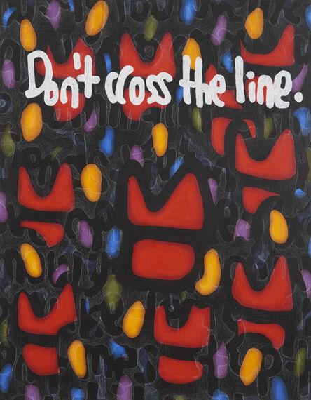 JIHI, 'Don't Cross the Line', 2020