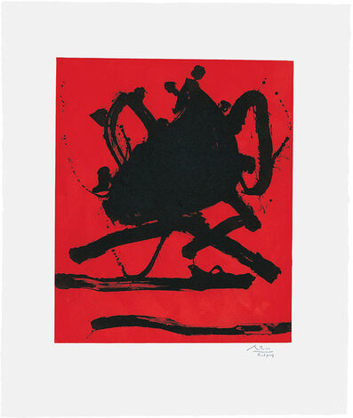 Robert Motherwell, 'Red Sea II', 1979