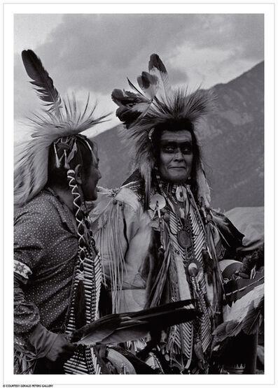 Nancy Wood, 'The Masked Men, Taos Pueblo, NM', 1987