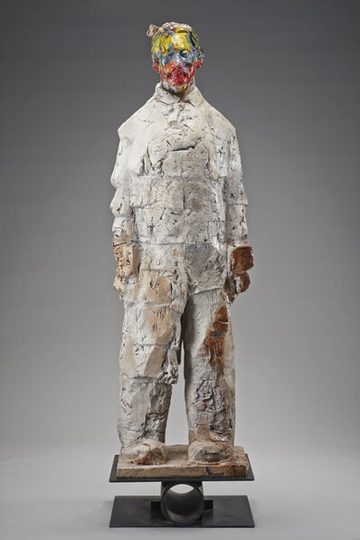 Wanxin Zhang, 'Warrior with Color Face', 2009