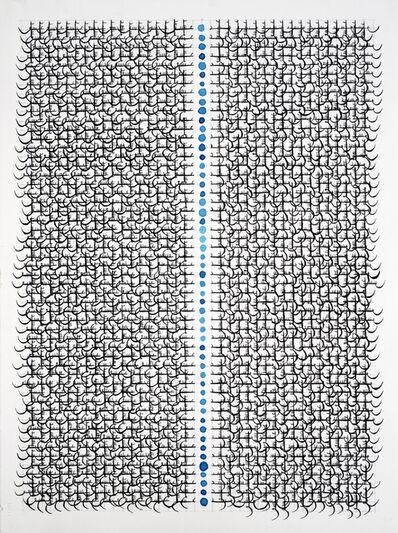 Hadieh Shafie, 'Grid Drawing 37', 2015