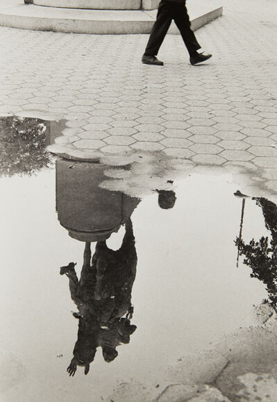 André Kertész, 'Washington Square After Rain', 1970