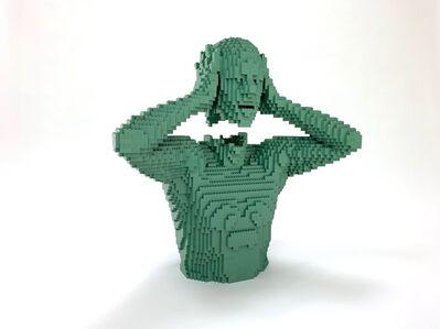 Nathan Sawaya, 'Sand Green Torso', 2018