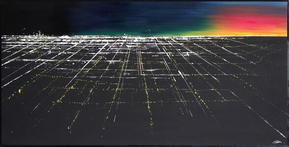 Pete Kasprzak, 'Griffith Sunset Aerial II', 2019