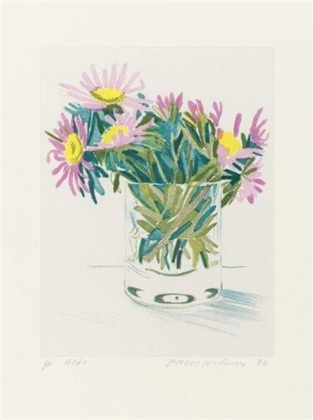David Hockney, 'Marguerites', 1980