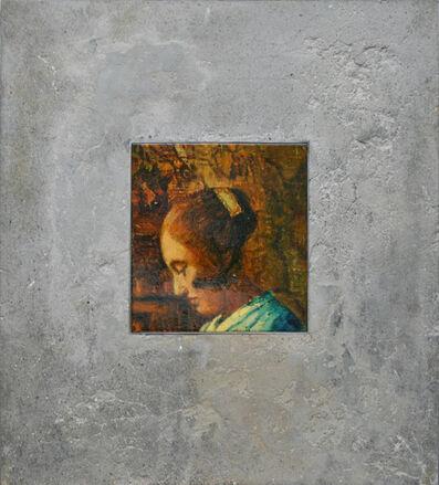 David Bierk, 'Figure Fragment in Stone, to Vermeer', 2001