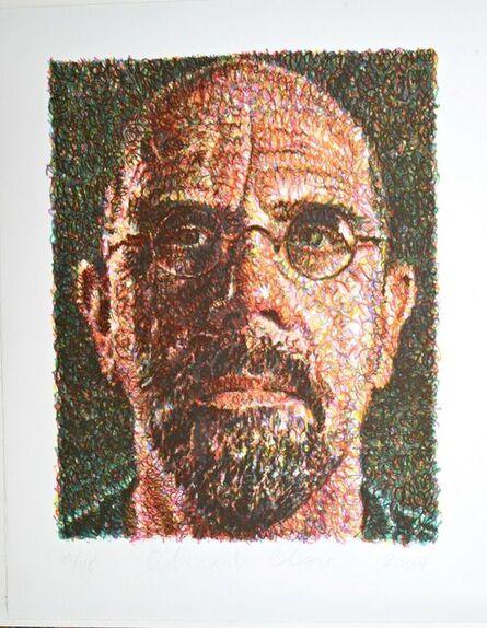 Chuck Close, 'SELF-PORTRAIT/LINCOLN CENTER', 2007