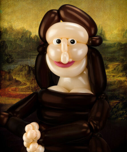 Larry Moss, 'Mona Lisa', 2020