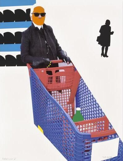 John Baldessari, 'Karl Lagerfeld', 2015