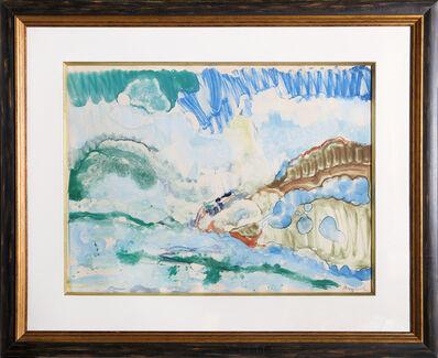 Romare Bearden, 'High Surf Orient Bay, St. Martin', 1980