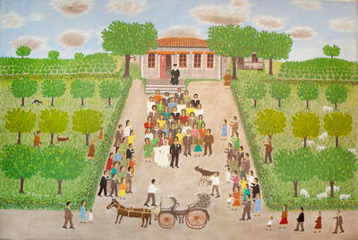 Giorgos Rigas, 'The Wedding Carriage', 1989