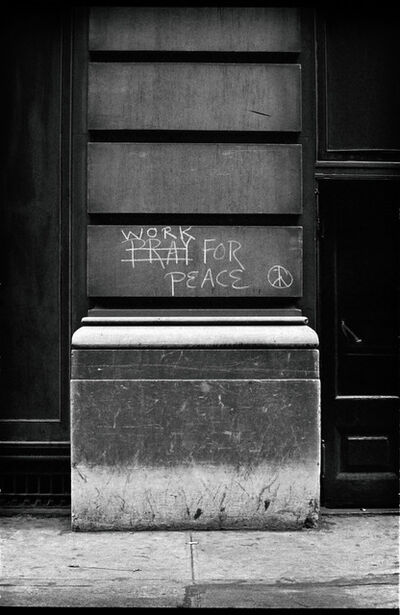 Jim Marshall, 'Work For Peace, New York', 1962