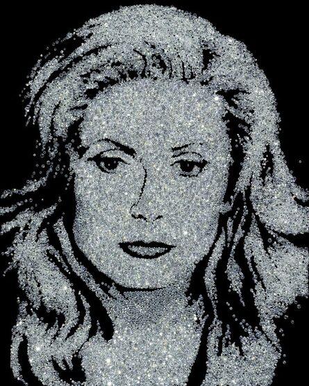 Vik Muniz, 'Catherine Deneuve (Pictures of Diamonds)', 2004