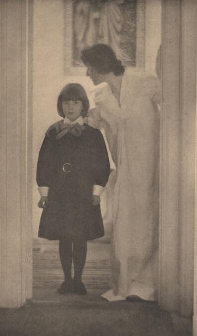 Gertrude Käsebier, 'Blessed Art Thou among Women', 1903
