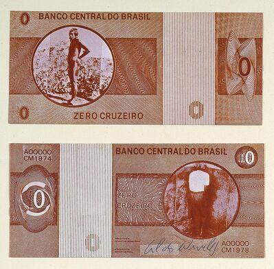 Cildo Meireles, 'Zero cruzeiro', 1974-1978