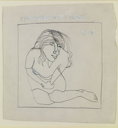 Lucian Freud, 'Encarnation in the Square – Annie', 1968