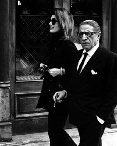Ron Galella, 'Jacqueline Kennedy Onassis and Aristotle Onassis at P.J. Clarke's Restaurant, New York', 1971