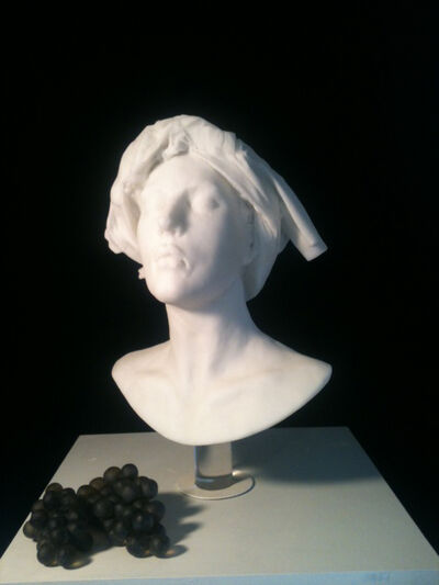 Nicolas Africano, 'Bust with Grapes', 2012