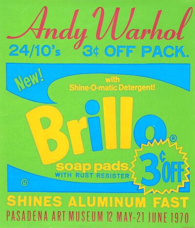 Andy Warhol, 'Brillo Soap Pads - Pasadena Art Museum Poster', 1970