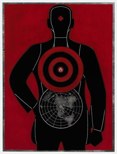 Shepard Fairey, 'Global Target (Plate)', 2012