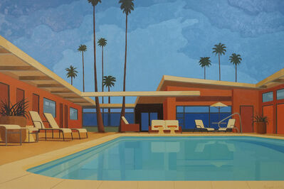 Andy Burgess, 'Palm Springs Hotel', 2015