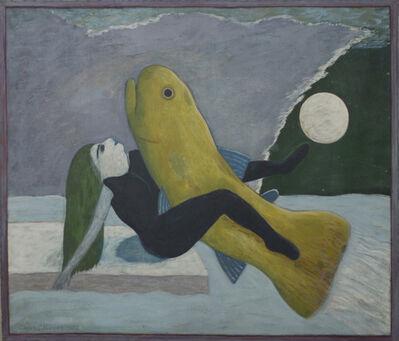Gaylen Hansen, 'Woman and Yellow Fish', 1982